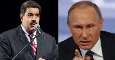 "Putin pide a Maduro actuar ""dentro de la legalidad"""