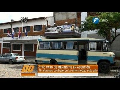 Otro caso de meningitis en un colegio de Asunción