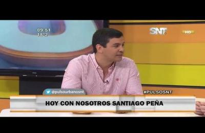 Nos visita Santiago Peña