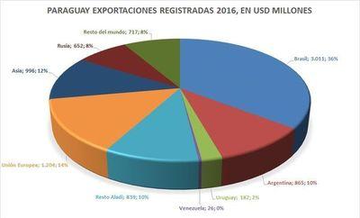 Crisis de Brasil afectará a Paraguay, aseguran
