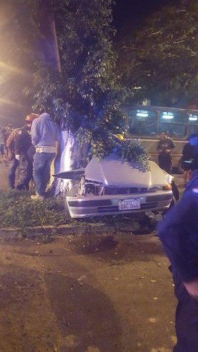 Fatal accidente camino al centro de Villa Elisa