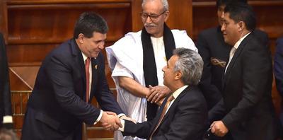 Horacio Cartes resalta relaciones con Ecuador