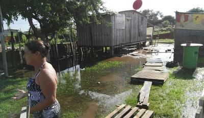 Éxodo de ribereños comenzó nuevamente, en Asunción