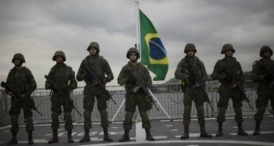 Presidente de Brasil  retira Ejército de las calles