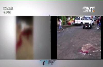 Grave persona que fue baleada en el Mercado de Abastos