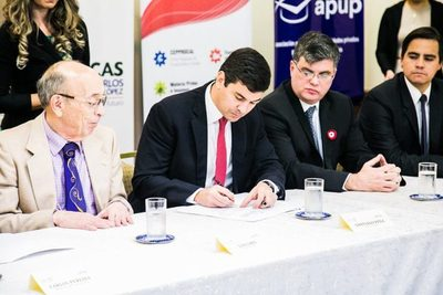Hacienda y BNF firman acuerdo que beneficia a becarios