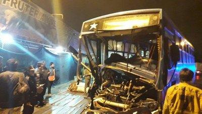 Cuatro personas heridas luego de un choque en Capiatá
