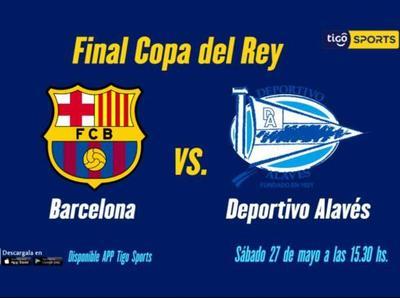 Barcelona y Alavés, por la corona