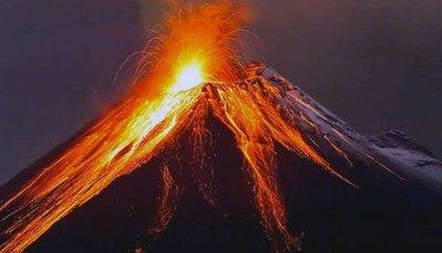 El volcán guatemalteco de Fuego aumenta actividad