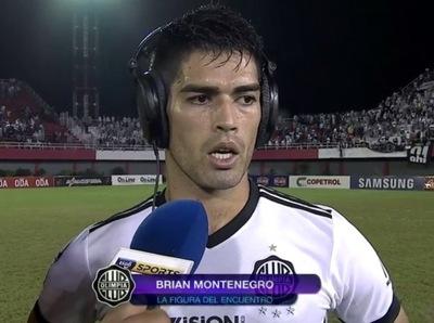 Brian Montenegro fue la figura del partido