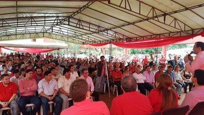 Eminente ruptura en el oficialismo colorado en Canindeyú
