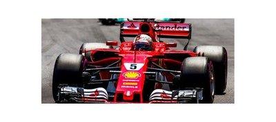 Sebastian Vettel triunfa en el Gran Premio de Mónaco