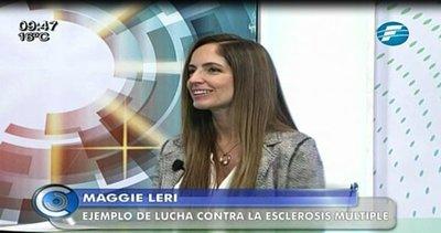 Maggie Leri, una mujer que lucha contra la esclerosis múltiple
