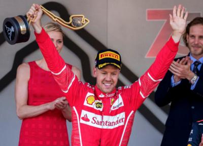 Vettel y su estrategia vencen en Mónaco