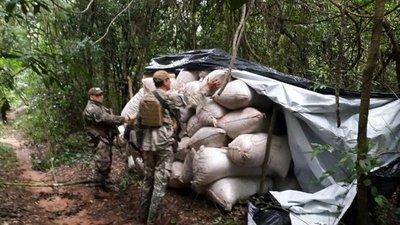 Desmantelan base de operaciones narcos en Capitán Bado