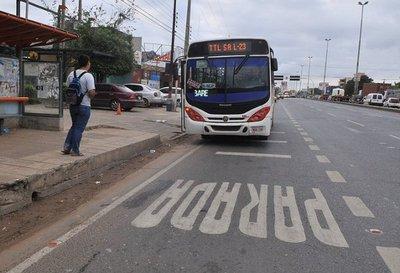 Piden suspender paradas obligatorias en Transchaco