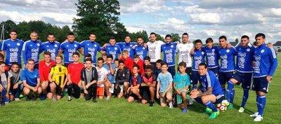 La Albirroja entrena en Rennes y Chiqui Arce perfila el equipo