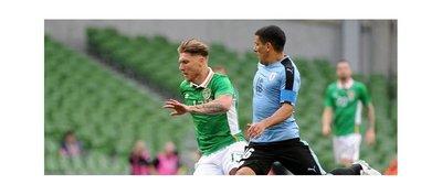 Irlanda se hace fuerte en casa y se impone ante Uruguay