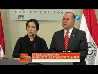 Lea Giménez, la primera mujer frente al Ministerio de Hacienda