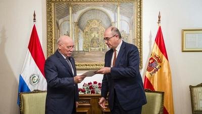 Embajador español ratifica buenas relaciones con Paraguay
