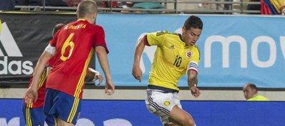 España y Colombia firman un electrizante empate