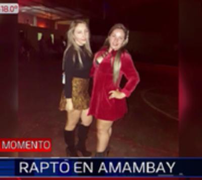 Desconocidos raptan a dos mujeres en Amambay