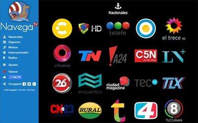Ahora puedes ver 70 canales por internet