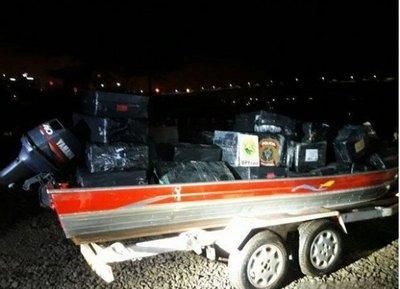 Incautan 1.500 kilos de marihuana paraguaya en Brasil