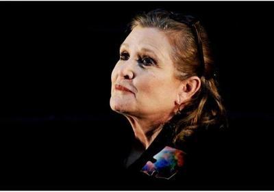 Carrie Fisher murió por apnea del sueño