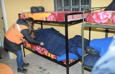 16 personas pasaron la noche en albergue de la SEN