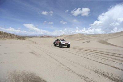 Siete días de dunas en el Dakar 2018