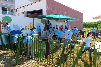 Citi celebra Día Global de la Comunidad en Paraguay