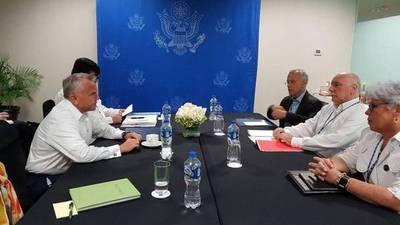 Representante de Trump pide a Paraguay seguir presión a Maduro y combate a mafias