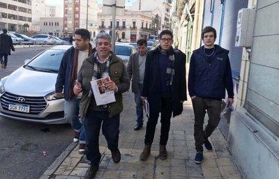 Captura internacional en caso de bombas molotov