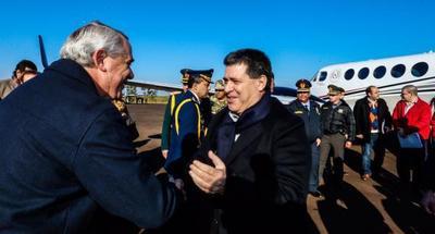 Presidente inauguró obras y entregó aportes en Itapúa