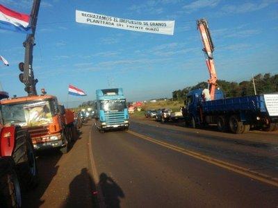 Tractorazo: no hay indicaciones de sitiar Asunción