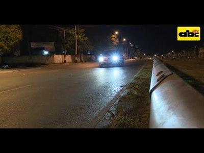Avenida Ñu Guasu, un peligro para peatones