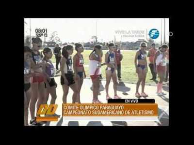 Más de 400 atletas en el Sudamericano de Atletismo que se realiza en Paraguay