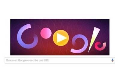 """Google rinde homenaje al creador de la """"música visual"""" con nuevo doodle"""