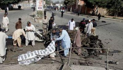 Doble atentado deja muertos y heridos en Pakistán