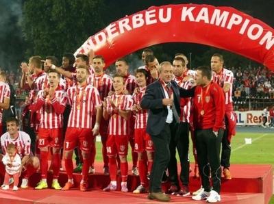 El Skënderbeu se queda sin título de campeón