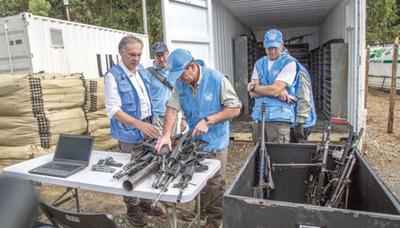 Las FARC dejaron de existir tras entrega de armas a ONU