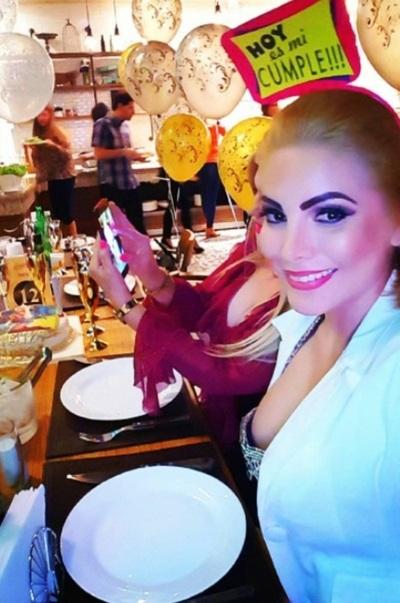 La Modelo Angie Leiva Cumplió Años Y Así Lo Celebró