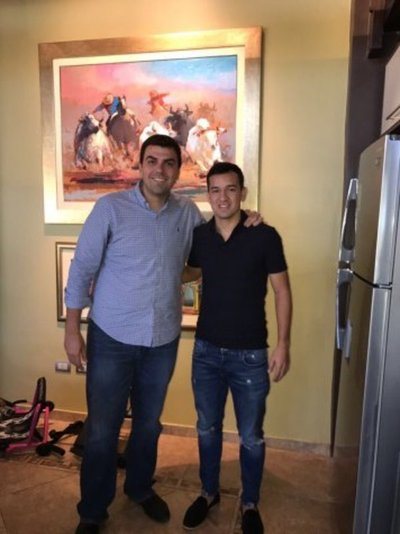 Camacho firmó por Olimpia