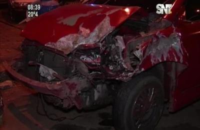 Fatal accidente en la ciudad de Luque