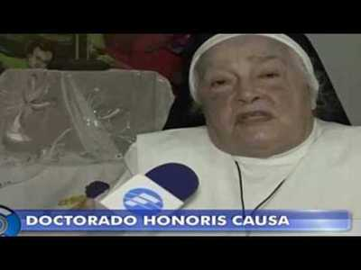 Hermana Regina Sian recibirá Doctorado Honoris Causa