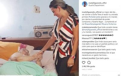 """Marly Figueredo En Su Rol De """"primera Dama"""""""