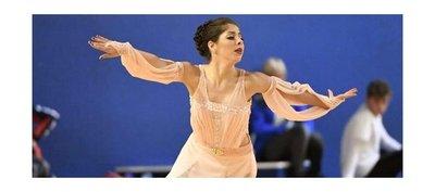 Laila Ozuna, la mejor del patinaje artístico sudamericano