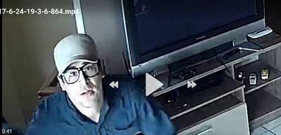 Cámaras registran a ladrones