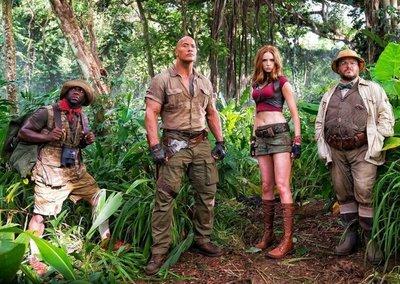 """Primer tráiler de la nueva """"Jumanji""""nos lleva a la selva"""